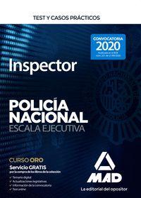 INSPECTOR DE POLICIA NACIONAL TEST