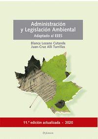 ADMINISTRACION Y LEGISLACION AMBIENTAL.