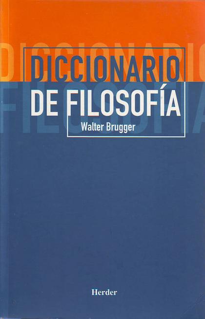 DICC DE FILOSOFIA.