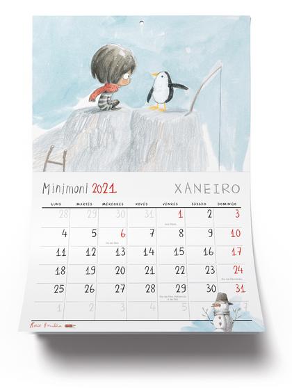 CALENDARI MINIMONI 2021 (GALLEC)