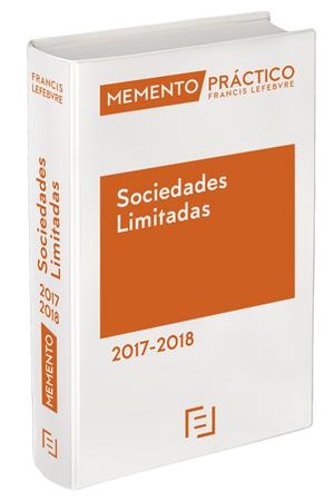 MEMENTO PRACTICO SOCIEDADES LIMITADAS 2017 2018