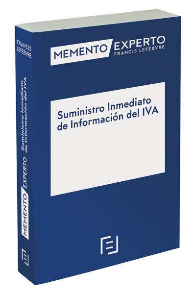 MEMENTO EXPERTO SUMINISTRO INMEDIATO DE INFORMACIÓN DEL IVA