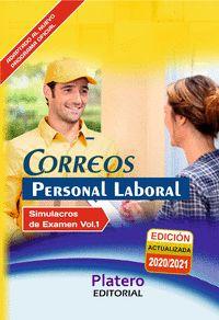 PERSONAL LABORAL DE CORREOS. SIMULACROS DE EXAMEN VOLUMEN I