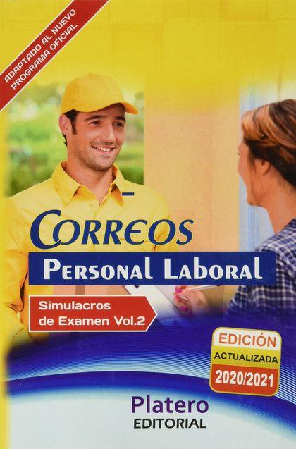 PERSONAL LABORAL DE CORREOS. SIMULACROS DE EXAMEN VOLUMEN II