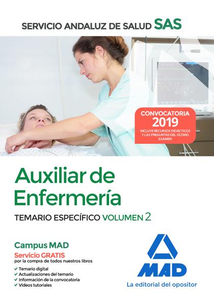 AUXILIAR ENFERMERÍA 2019 SAS SERVICIO ANDALUZ DE SALUD