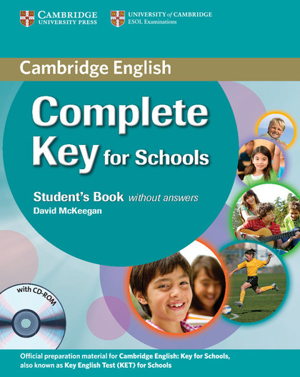 COMPLETE KEY FOR SCHOOLS PK ST/WB