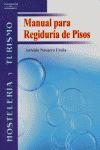 MANUAL PARA REGIDURÍA DE PISOS
