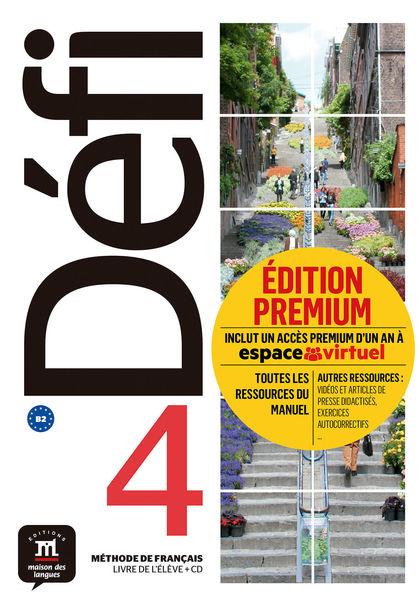 DEFI 4 NIVEL B2 LIBRO DEL ALUMNO Y CD PREMIUM 2019.