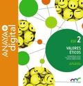 VALORES ÉTICOS 2. ESO. ANAYA + DIGITAL..