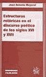 ESTRUCTURAS RETÓRICAS EN EL DISCURSO POÉTICO DE LOS SIGLOS XVI Y XVII