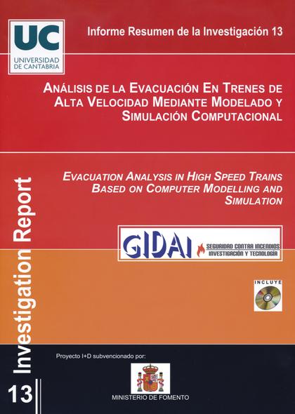 ANÁLISIS DE LA EVACUACIÓN EN TRENES DE ALTA VELOCIDAD MEDIANTE MODELADO Y SIMULACIÓN COMPUTACIO
