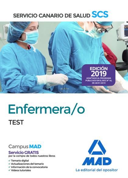 ENFERMERA/O DEL SERVICIO CANARIO DE SALUD. TEST.