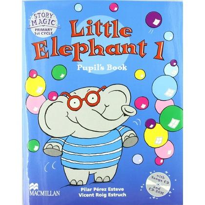 LITTLE ELEPHANT 1+2CD PUPILS BOOK