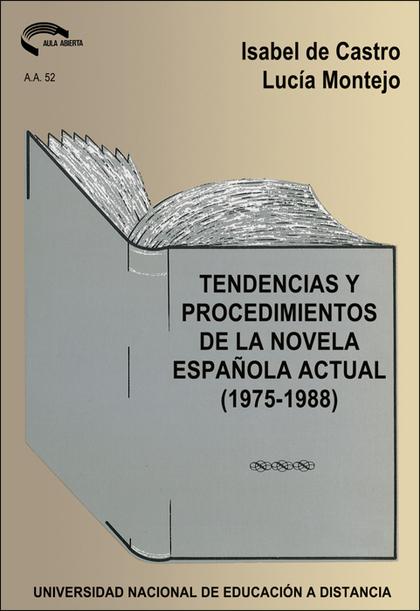 REF.36052AA01 TECNICAS PROCEDIMIENTOS NOVELA ESPAÑOLA