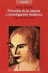 Filosofía de la ciencia e investigación histórica