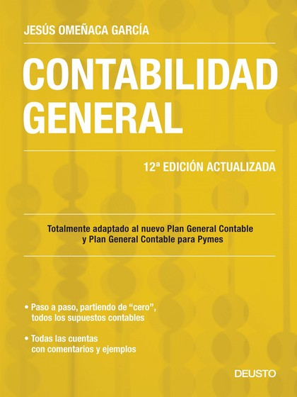 CONTABILIDAD GENERAL : TOTALMENTE ADAPTADO AL NUEVO PLAN GENERAL CONTABLE Y PLAN GENERAL CONTAB