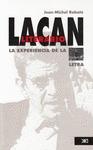 LACAN LITERARIO. LA EXPERIENCIA DE LALETRA