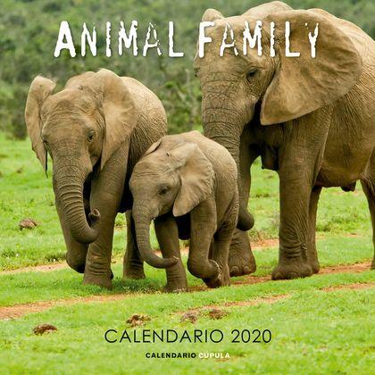 CALENDARIO ANIMAL FAMILY 2020.