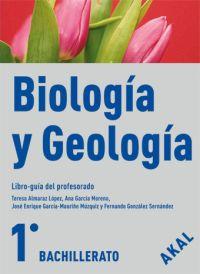 BIOLOGÍA Y GEOLOGÍA, 1 BACHILLERATO. LIBRO-GUÍA DEL PROFESORADO
