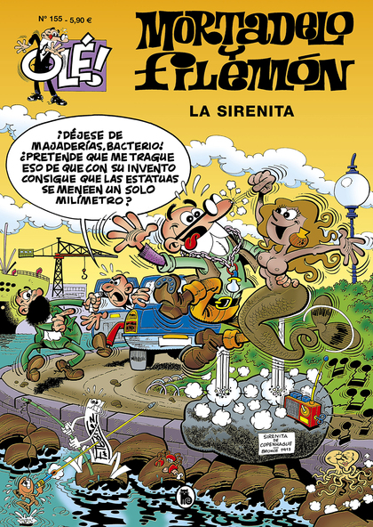 LA SIRENITA (OLÉ! MORTADELO 155).