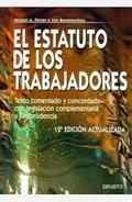 EL ESTATUTO DE LOS TRABAJADORES: TEXTO COMENTADO Y CONCORDADO CON LEGISLACIÓN COMPLEMENTARIA Y
