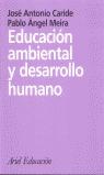 EDUCACIÓN AMBIENTAL Y DESARROLLO HUMANO