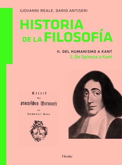 HISTORIA DE LA FILOSOFÍA. II DEL HUMANISMO A KANT