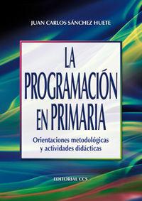 LA PROGRAMACIÓN EN PRIMARIA : ORIENTACIONES METODOLÓGICAS Y ACTIVIDADES DIDÁCTICAS
