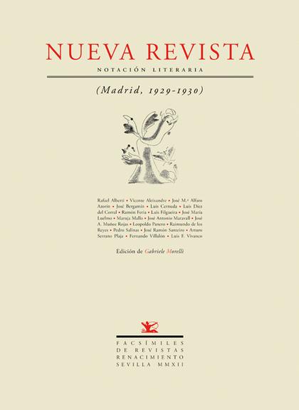 NUEVA REVISTA : NOTACIÓN LITERARIA (MADRID, 1929-1930)