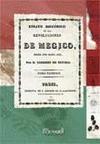 ENSAYO HISTÓRICO DE LAS REVOLUCIONES DE MEGICO I. : DESDE 1808 HASTA 1830