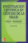 INVESTIGACION CIENTIFICA EN CIENCIAS DE LA SALUD