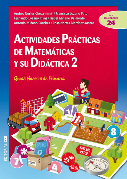 ACTIVIDADES PRÁCTICAS DE MATEMÁTICAS Y SU DIDÁCTICA 2 : GRADO MAESTRO DE PRIMARIA