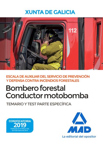 ESCALA DE AUXILIAR DEL SERVICIO DE PREVENCIÓN Y DEFENSA CONTRA INCENDIOS FORESTA.