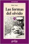 FORMAS DEL OLVIDO