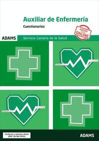 CUESTIONARIOS AUXILIAR DE ENFERMERÍA SERVICIO CANARIO DE SALUD.