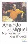 MEMORIAS Y DESAHOGOS