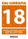 CAL·LIGRAFIA 18, 6 EDUCACIÓ PRIMÀRIA (BALEARES, CATALUÑA). QUADERN