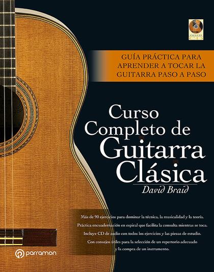 CURSO COMPLETO DE GUITARRA CLÁSICA
