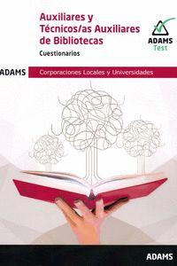 AUXILIARES Y TECNICOS AUXILIARES DE BIBLIOTECAS - CUESTIOARIOS