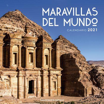 CALENDARIO MARAVILLAS DEL MUNDO 2021.