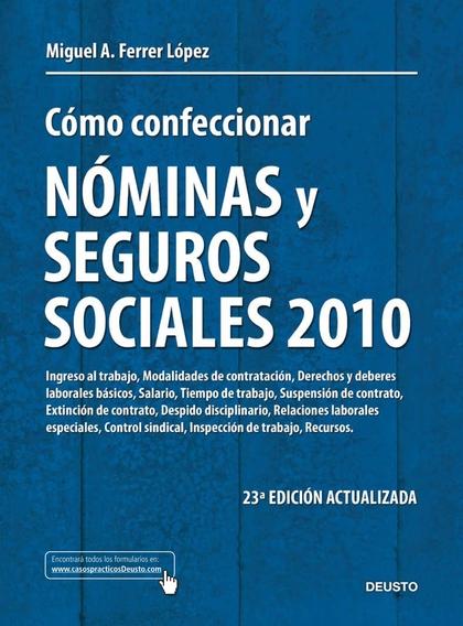 CÓMO CONFECCIONAR NÓMINAS Y SEGUROS SOCIALES