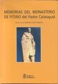 MEMORIAS DEL MONASTERIO DE FITERO DEL PADRE CALATAYUD.