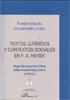 TEXTOS JURÍDICOS Y CONTEXTOS SOCIALES EN F. A. HAYEK