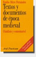 TEXTOS Y DOCUMENTOS DE EPOCA MEDIEVAL (ANALISIS Y COMENTARIO
