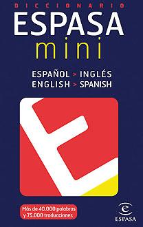 DICCIONARIO MINI INGLÉS.