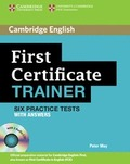 FIRST CERTIFICATE TRAINER WITH ANSWERS + 3 CDS.