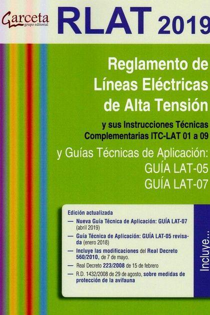 REGLAMENTO DE LINEAS ELECTRICAS DE ALTA TENSION Y SUS INSTRUCCIONES TECNICAS COM