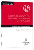 EL ESTATUTO JURÍDICO DEL PERSONAL INVESTIGADOR EN FORMACIÓN