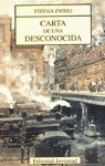 CARTA DE UNA DESCONOCIDA