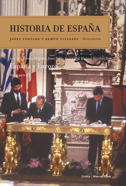 VOLUMEN 11. ESPAÑA Y EUROPA.